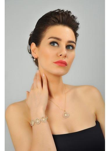 0,85 ct Pırlanta Efekt Altın Vital İtalyan Kolye-Tophills Diamond Co.